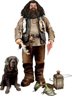 """Harry Potter - 10"""" Talking Hagrid Action Figure w/ Push-Button Sound by NECA"""