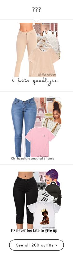 """""""👟👟👟"""" by paris-doll ❤ liked on Polyvore featuring NYX, Mura, Henri Bendel, Michael Kors, NIKE, adidas, Charlotte Russe, ASOS, Too Faced Cosmetics and SheaMoisture"""