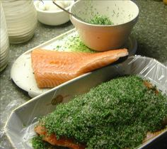 Gravad Lax With A Mustard And Dill Sauce Recipe - Food.com