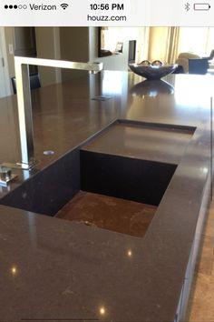 Nebulas kitchen countertops and countertops on pinterest - Silestone showroom ...