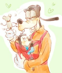 Baby Max | by Y @ Pixiv.net // goofy and max; goof troop