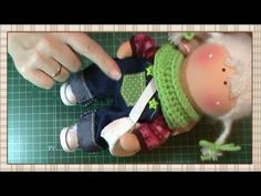 Tutorial Renata: jersey y calcetines - YouTube