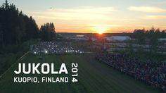 Jukolan Viesti, the largest  annual orienteering relay race in the world visited Kuopio in 2014.