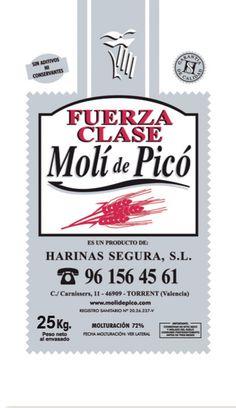 La Fuerza Clase es un tipo de harina con uso similar a la FFF-S. Sin embargo la W=220 da un aumento de fuerza considerable, por lo tanto, más rica en proteína. Es un tipo de harina para fermentaciones muy largas y para masas precongeladas. Más información: molidepico@gmail.com o 96 156 45 61
