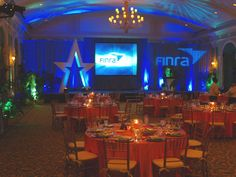 Corporate Stage set at the Vinoy