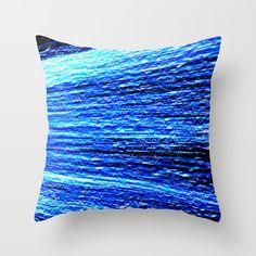 Blues Throw #Pillow