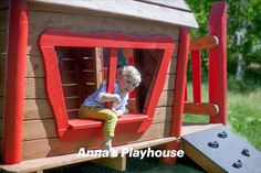 The Lars Laj Woodhouse is a real command center in every playground. Made entirely of #wooden planks it is fully natural and environmentally friendly.   #larslaj #playground #woodenhouse Wooden House, Planks, Outdoor Play, Play Houses, Playground, Nature, Kids, Children Playground, Young Children