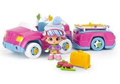 The Pinypon Snow Adventure Car & Tow set