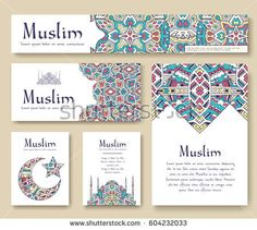 Set of Turkish flyer page ornament illustration concept. Art traditional, Islam, arabic, abstract, ottoman motifs, elements. Vector decorative ethnic greeting card or invitation design background. Banner Backdrop, Event Banner, Flyer And Poster Design, Flyer Design, Islamic Events, Graphic Design Lessons, Arabic Design, Box Design, Graphic Design Illustration