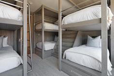 A bunk room fit for long-weekend guests of all ages.
