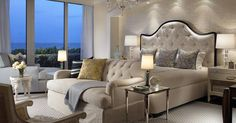Master Bedroom - Beach Style - Bedroom - Miami - Cindy Ray Interiors, Inc. Dream Bedroom, Home Decor Bedroom, Bedroom Ideas, Bedroom Furniture, Bedroom Beach, Bedroom Wall, Decor Room, Classic Bedroom Decor, Star Bedroom