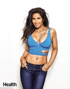 6bcd4a6313 Padma Lakshmi shows off her toned shape in sporty underwear