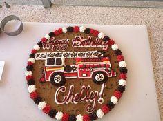 :) American Cookie, Cookie Cakes, Cookie Designs, Tiramisu, Birthday Cake, Ethnic Recipes, Desserts, Food, Tailgate Desserts