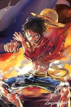 OP_Luffy by zzyzzyy.deviantart.com on @deviantART