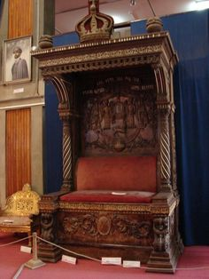 Emperor Haile Selassie's Throne - National Museum, Addis Ababa