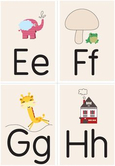Love these free printable flashcards.unfortunately, she's releasing a set each month and they are not all available yet. Toddler Learning Activities, Alphabet Activities, Kids Learning, Alphabet Words, Alphabet Book, Flashcards For Kids, Printable Flashcards, Free Printable, Printables