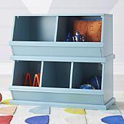 Storagepalooza Light Blue Toy Cubby