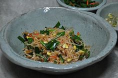 korean kimchi sprout mixed rice