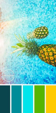 Original Abstract Paintings and Modern Resin Artworks by KNicoleStudios - A fresh tropical color combo to brighten up your life! Color Schemes Colour Palettes, Colour Pallette, Color Combos, Printable Christmas Coloring Pages, Resin Artwork, Beach Color, Tropical Colors, Color Balance, Color Stories
