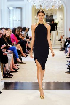 Black with a touch of gold.  Ralph Lauren Resort 2015