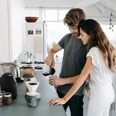 Wellness Issue: Ally Walsh & Casey Wojtalewicz's Insider Guide to Healthy Living in L. How To Make Coffee, Making Coffee, Coffee Instagram, Living In La, Models Off Duty, Southern Marsh, Southern Tide, Southern Prep, Feeling Great