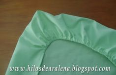 Hilos de Aralena: Como hacer una sábana ajustable