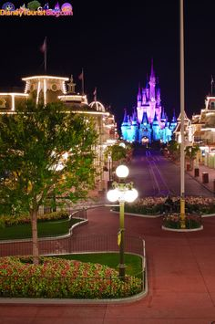Main Street at night. My all-time favorite.