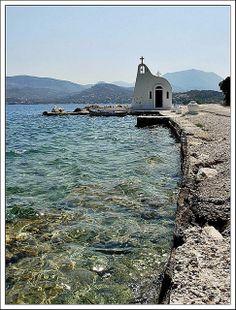 Ireon Lake ~ Loutraki, Greece - Photo by Eleanna Kounoupa Mykonos Greece, Crete Greece, Athens Greece, Greece Pictures, Greek Isles, Samos, Old Churches, Greece Islands, Greece Travel