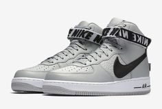 Release Date: Nike Air Force 1 High Statement Game Flight Silver