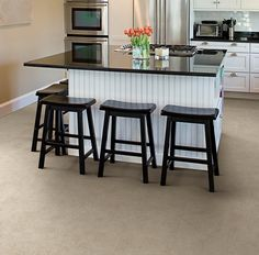 Create a modern American home with our new Made in the USA stone LVT. Check out of new Vision line at ivcfloors.com
