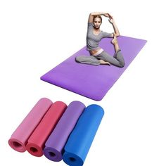 First, Non-Slip Yoga Pilates Workout Mat is a beautiful and comfortable exercising platform for you daily yoga and pilates working out routines Hot Yoga Wear, Yoga Pad, Daily Yoga, Mat Exercises, Yoga Lifestyle, Yoga Fashion, Yoga Everyday, Pilates Workout, Pure Products