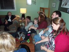 "Christmas get-together. More ""pre-dinner"" fun. Spending time with family. Dinner, Christmas, Fun, Navidad, Suppers, Weihnachten, Yule, Christmas Movies, Xmas"