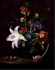 bas meeuws ~ floral still life ~