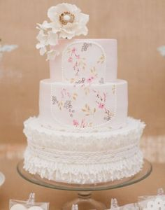 An inspiration for wedding cake | http://www.bridestory.com/la-cupella-cake-boutique/projects/la-cupella-cake-boutique