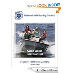 Amazon.com: National Safe Boating Council Open Water Boat Control - Student Training Manual eBook