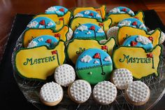 Mind Blowing Ineffable Golf Pro Ideas and Tips. Irrestible Golf Pro Ideas and Tips. Golf Cookies, Iced Cookies, Sugar Cookies, Easter Cookies, Golf Instructors, Golf Academy, Golf Magazine, Masters Golf, Golf Simulators