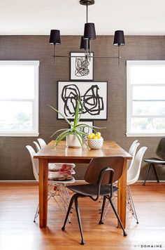 Modern dining room - cool photo