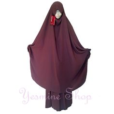 Two piece papillon style French-Algerian jilbab Modest Fashion, Hijab Fashion, Abaya Pattern, Hijab Niqab, Muslim, Dressing, Hijab Styles, Elegant, Islamic