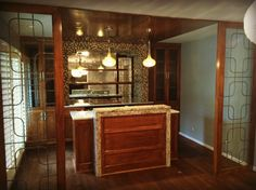 Ellis Bentley Homes – Custom Wet Bar