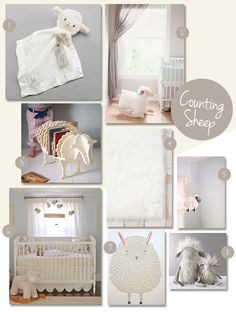 This gender neutral, soft and cozy nursery is so inviting for your new little one to come home to! A room filled with little lambs for your baby to love on will create a comfortable space for her to play and grow.