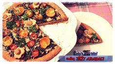 ★Sevinç YİĞİT ARABACI ★  Pazılı+Kiraz Domatesli #Tart #kekik #frenkmaydanozu #yummy #delicious #food #taste #SevincinLezzetDefteri #recipes #sebzelipizza #sebzelitart #vegetablepizza #vegetabletart
