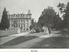 Hello Lane on UO campus 1918.  From the 1919 Oregana (University of Oregon yearbook).  www.CampusAttic.com