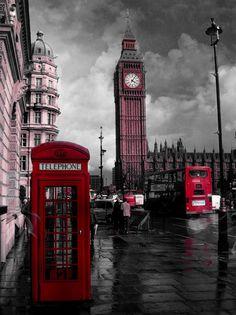 런던 이층버스 / 런던 전화박스 저금통