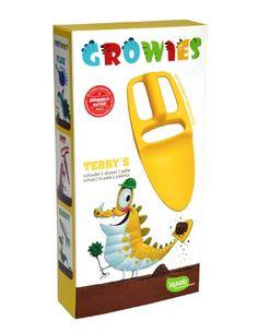 GROWIES, Terry's Kinder Schaufel mit variabler Griffposition, iGADU Gartenspielzeug