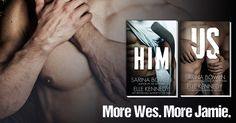 Us (Him, #2) by Sarina Bowen & Elle Kennedy ~ More Wes. More Jamie. ♥ #ReleaseDateMarch8th2016