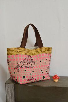 Runlala Rabbit Tote Bag
