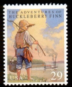 Literary Stamps: Twain, Mark (1835–1910)