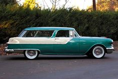 1955 Pontiac Safari.  Now if I just had a Chevy Nomad ...