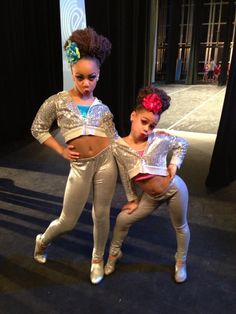 Dance Mom's Nia and Asia. They were AWESOME in their duet