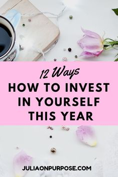 Most people don't invest in themselves nearly enough. There is a misconception that investment means wasting lots of money and involves a lot of risks Self Development, Personal Development, Live For Yourself, Improve Yourself, Invest In Yourself Quotes, Best Way To Invest, Self Improvement Tips, Transform Your Life, Self Care Routine